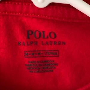 Polo by Ralph Lauren Shirts - POLO BY RALPH LAUREN BASIC RED CREWNECK TEE